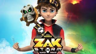 ZAK STORM ⚔️ COMPILATION ⚡️ Super Pirate