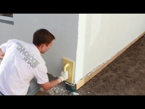 видео: Штукатурка короед - учимся наносить сами