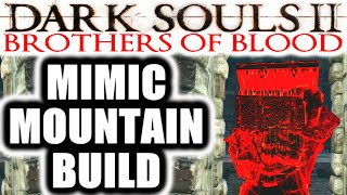 Dark Souls 2 PvP: Brothers of Blood: Crown of the Ivory King - MIMIC MOUNTAIN BUILD