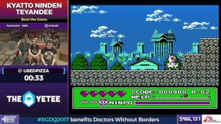 Kyatto Ninden Teyandee by Usedpizza in 11:29 - SGDQ2017 - Part 61