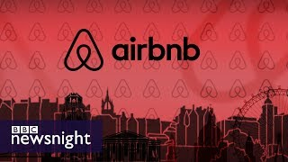 Airbnb and its impact on the UK housing market - BBC Newsnight
