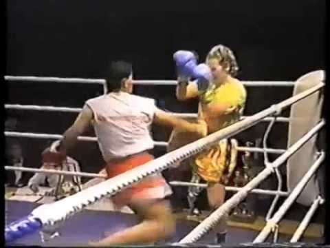 Lucia Rijker - Kickboxing Highlight  - Leg Kicks, Knees, Bodyshots