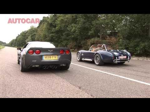 Corvette ZR1 v AC Mk6 – drag race by autocar.co.uk