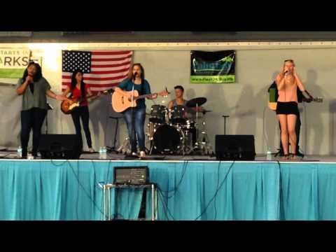 Music concert at Goodie Park Palm Bay Florida