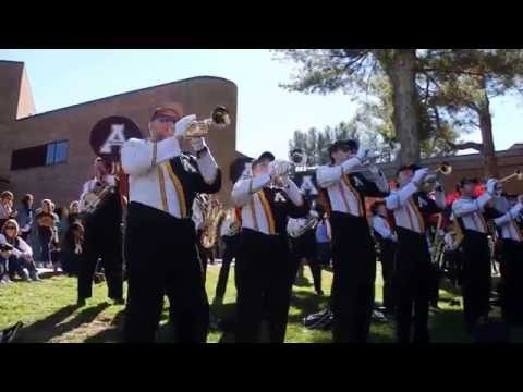 Appalachian State Fight Song - Pregame 11/05/2016