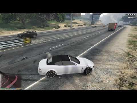 GTA 5 - BEST CAR + POLICE CHASE (FELON GT) thumbnail