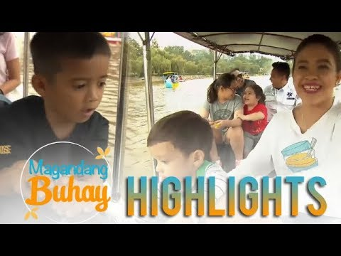 Magandang Buhay: Zia, Pele, and Carlo happily row their boats on Burnham Park