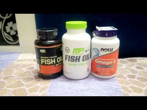 The Fish Oil Supplement Battle Feat ON,Muscle Pharm & Now Foods