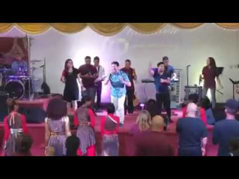 One Way Band at Yahweh 2016, Ministerio Restauración Cristiana, New Jersey