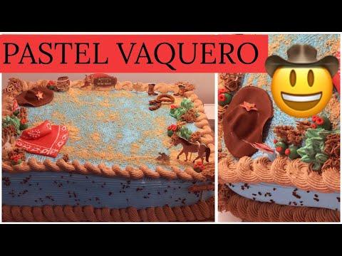 Repeat Decoración De Pastel Cowboy Vaquero By La