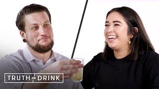 My Boss & I Play Truth or Drink (Alex & Bjork) | Truth or Drink | Cut