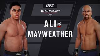 Muhammad Ali vs. Floyd Mayweather (EA Sports UFC 3) - CPU vs. CPU