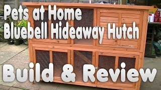 Bluebell Hideaway Rabbit Guinea Pig Hutch Review | Unboxing And Building | Electro Reviews
