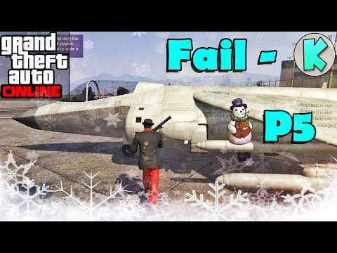 GTA 5 Kalok Kalok - Fail Part 5 | KhmerGamer