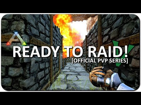 Ready To Raid And Raiding Duo! | New Official PVP Servers | ARK: Survival Evolved | #14