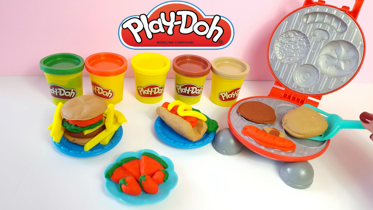 Fast Food Play Doh