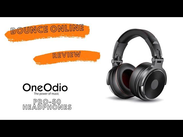 OneOdio Pro50 Studio wired headphone Review #headphones #review #oneodio