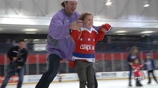 Caps Fight Cancer Skate 2016