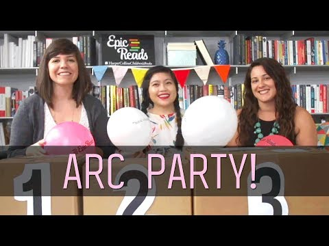 ARC Party (Winter 2018)! | Epic Reads Live