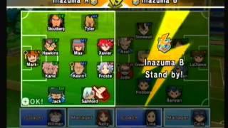 Inazuma Eleven Strikers Wii | Custom Teams: Inazuma A vs Inazuma B
