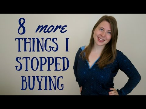 8 More Things I No Longer Buy | Decluttering Tips