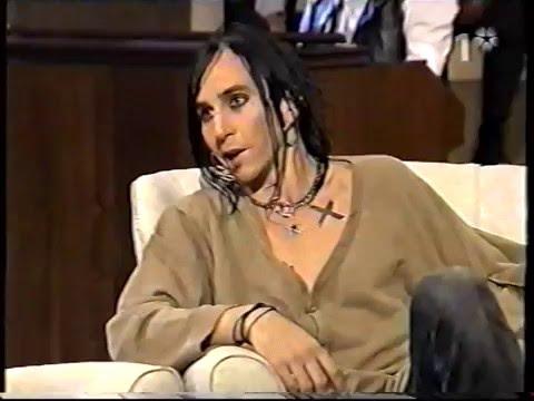 Dregen and Jerry Williams on TV Huset October 2004