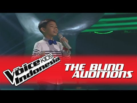 "Reink ""Wrecking Ball"" I The Blind Auditions I The Voice Kids Indonesia GlobalTV 2016"