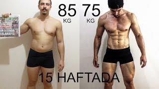 15 HAFTALIK DEĞİŞİM | Evolution of Bodybuilding  | 15 weeks | Fitnesstime | Abdulsamet Coşkun