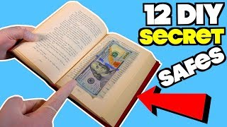 12 Simple Secret Safes You Didn't Know About  - Easy Life Hacks| Nextraker