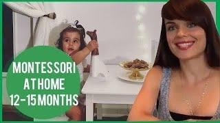 Developmental activities for babies 12 months + Montessori at home.
