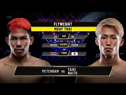 Petchdam vs. Taiki Naito   ONE Championship Full Fight