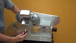 "12"" Deli Meat & Cheese Slicer Equipment by Chicago Food Machinery"
