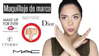 MAQUILLAJE DE MARCA QUE NO VALE LA PENA COMPRAR VOL.2  | MARIEBELLE