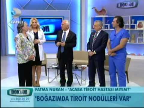 Prof.Dr.Cumali Aktolun-Kanal D-Doktorum-Tiroit, Guatr, Hipertiroidi, Nodül, Hipertiroidi