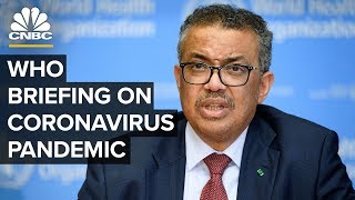 World Health Organization holds news conference on the coronavirus outbreak – 3/23/2020