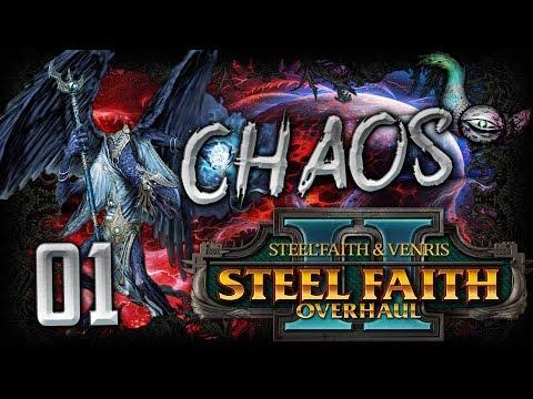 HERE COMES TZEENTCH AND CHAOS!  WARHAMMER 2 SFO 2  Chaos  Tzeentch Playthrough #1