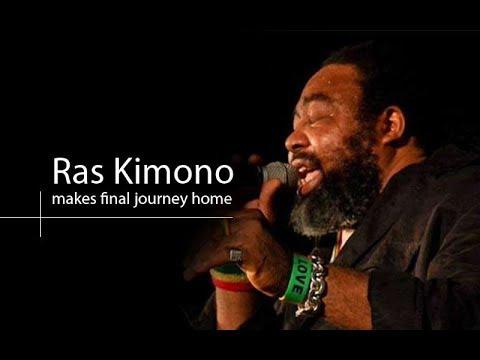 VIDEO: Ras Kimono's burial rites begin as body makes final