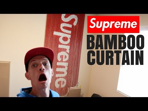 SUPREME BAMBOO CURTAIN REVIEW + HOW TO HANG