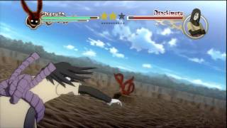 Naruto Ultimate Ninja Storm 2 - Naruto VS Orochimaru (Story Battle S-Rank)