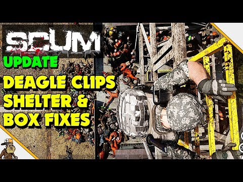 Scum - Scum Update round up (Golden Eagle mags, shelter and box fix's)