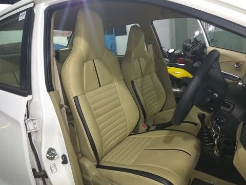 honda amaze car seat covers new amaze interior accessories youtube. Black Bedroom Furniture Sets. Home Design Ideas