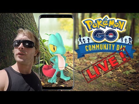 COMMUNITY DAY ARCKO EN DIRECT DE GUADELOUPE !!! - LIVE SHASSE POKEMON GO thumbnail