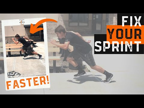 Sprint Faster With Proper Running Form (FAST FIX)