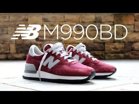 buy popular a9a8d c8325 Review: New Balance 990 Re-Issue - Burgundy