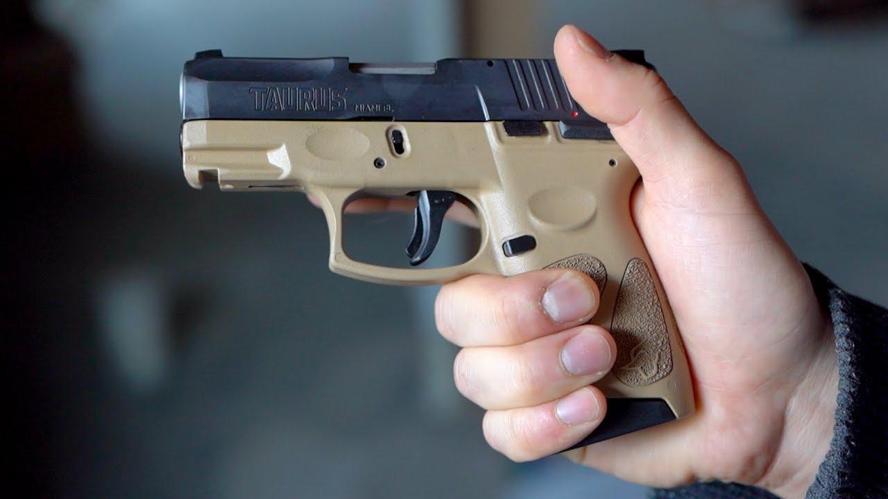 """Taurus G2C 9mm 3 2"""" Pistol, Black & OD Green $174 99 MIR"""