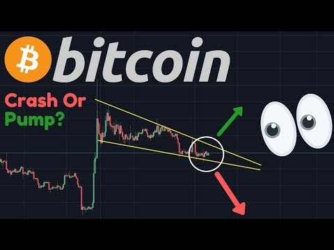 BITCOIN HUGE CRASH OR HUGE PUMP?!!! | BTC Consolidation About To End!