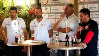 Pressekonferenz KSV Baunatal SC Pfullendorf