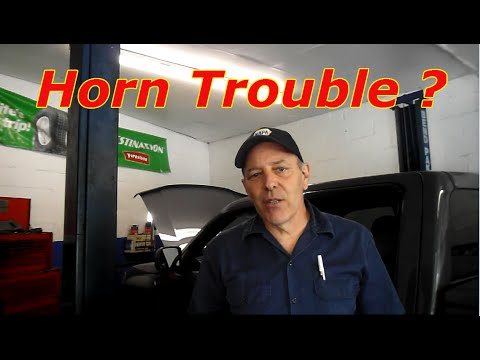 how to diagnose and repair a horn on a 2008 chevy colorado