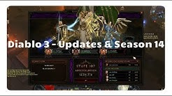 Diablo 3: Updates und Season 14