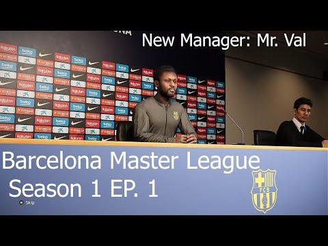 eFootball PES 2020   FC BARCELONA Master League Season 1 Ep 1